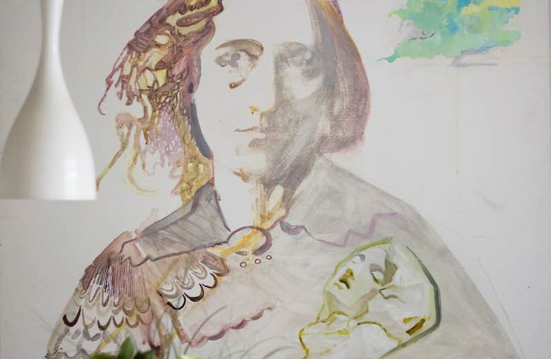 George Eliot by Sarah Pickstone in home of Kate Gibbons | Fabulous Fabsters