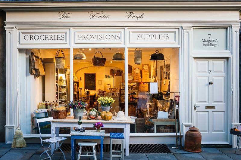 Silvana de Soissons, The Foodie Bugle shop front, Artisan Food, Bath England|Fabulous Fabsters