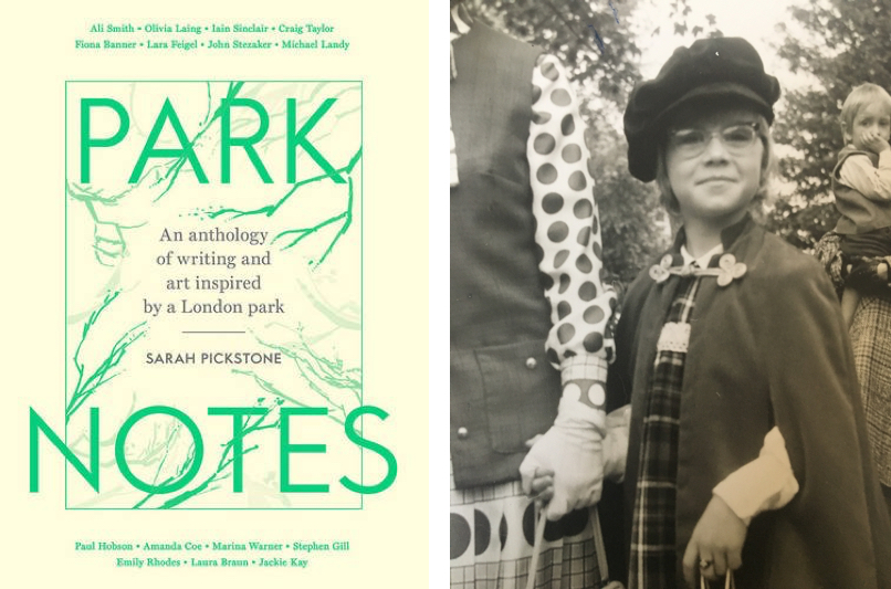 Cover of 'Park Note', an anthology of writing and art inspired by Regents Park