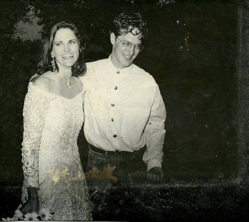 happy couple on their wedding day, Jeannie Ralston