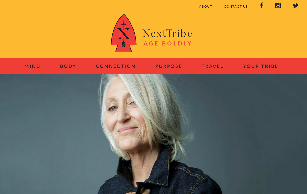 NextTribe cover, Gillean McLeod