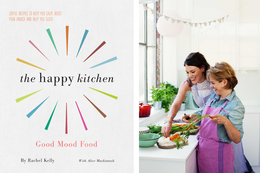 Cover of The Happy Kitchen, Alice Mackintosh and Rachel Kelly, Photo by Laura Edwards