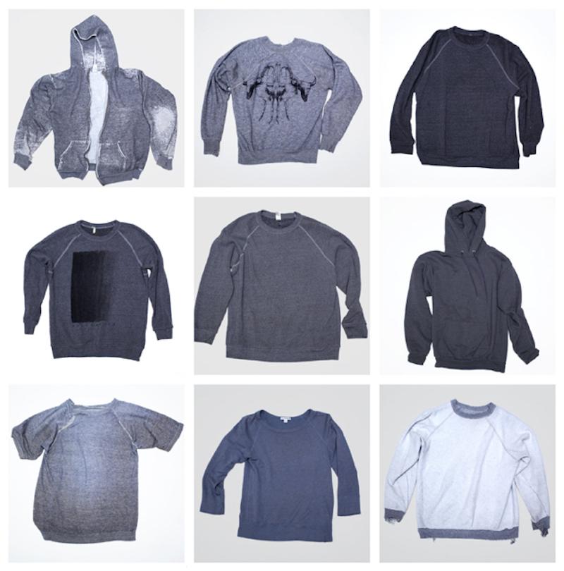 Gray sweatshirts, wardrobe wisdom