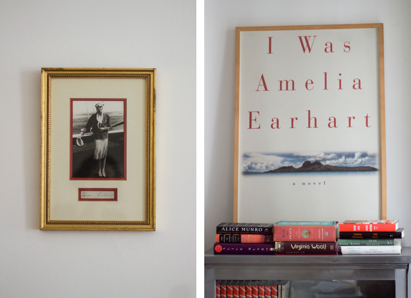Novelist, Writer, Jane Mendelsohn at home, Amelia Earhart | Fabulous Fabsters