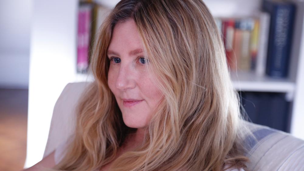 Novelist, Writer, Jane Mendelsohn, portrait by Nick Davis | Fabulous Fabsters