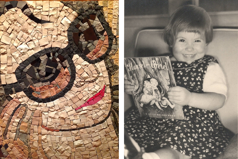 Saving Venice — City of Her Dreams, Mosaic portrait of JoAnn Locktov by Cecelia Giusti | Fabulous Fabsters
