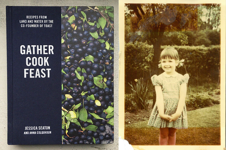 """Cover of """"Gather Cook Feast"""" by Jessica Seaton"""