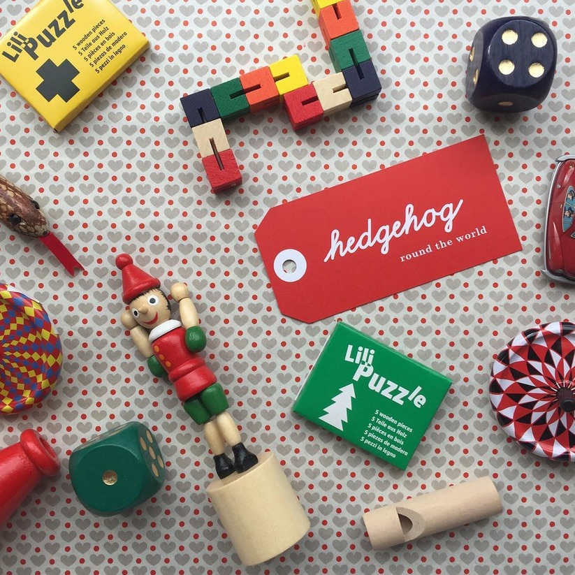 Wooden toys and puzzles, The Hedgehog Shop